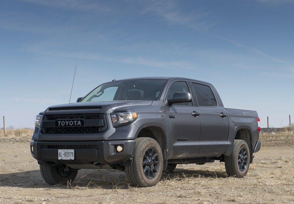 In Pictures All Blackedout 2016 Toyota Tundra TRD Pro