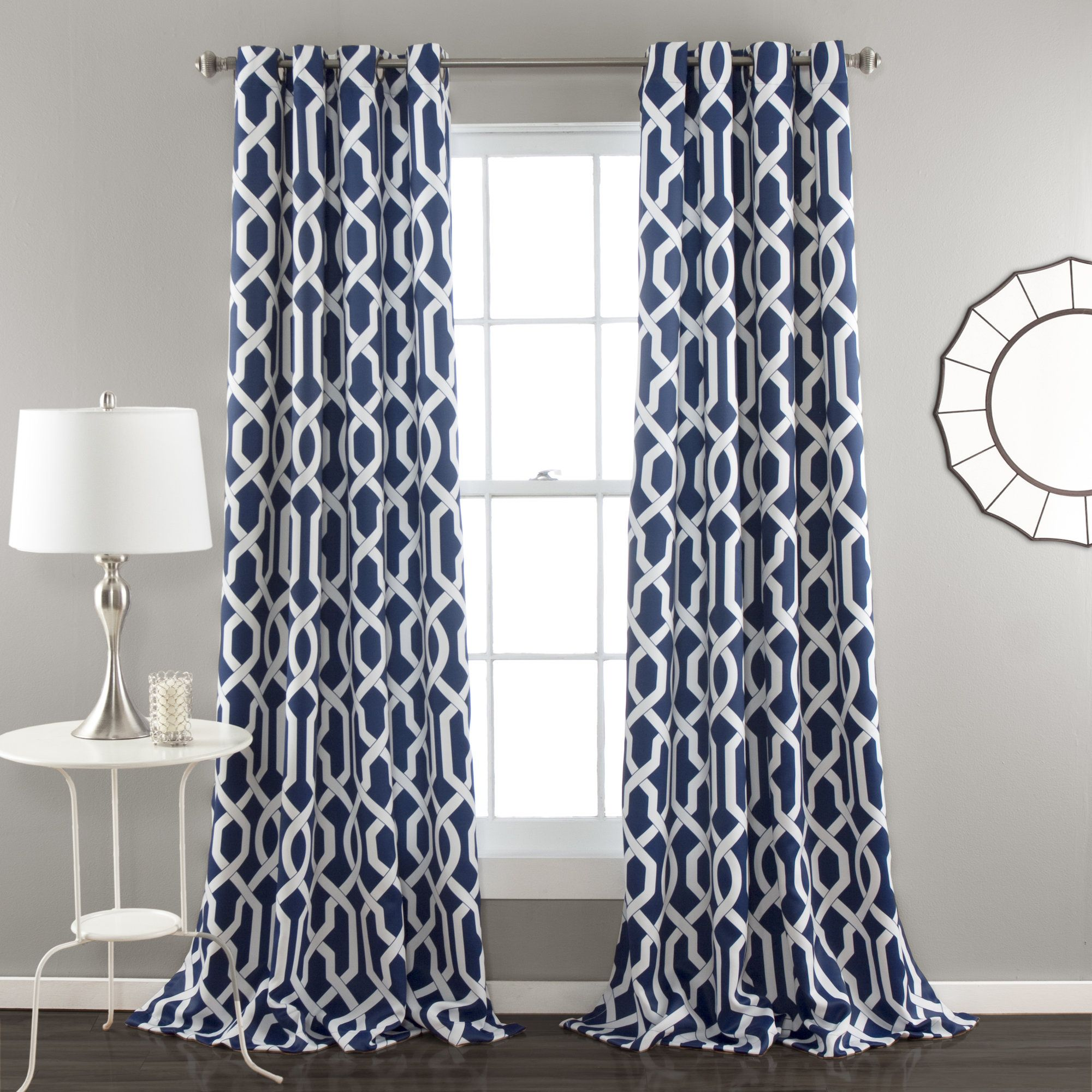 Bastian Trellis Thermal Curtain Panel