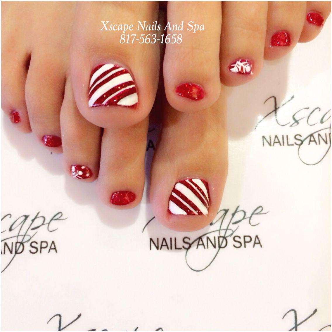 Christmas nail designs …   Pinteres…