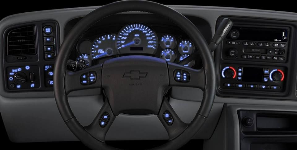 Led Dash Diy Kits For 2003 To 2006 Chevy Silverado Tahoe