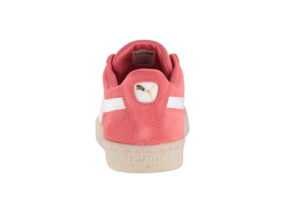 ff87955a2ce PUMA Suede Classic BBoy Fab Women s Shoes Spiced Coral Puma White Red Dahlia