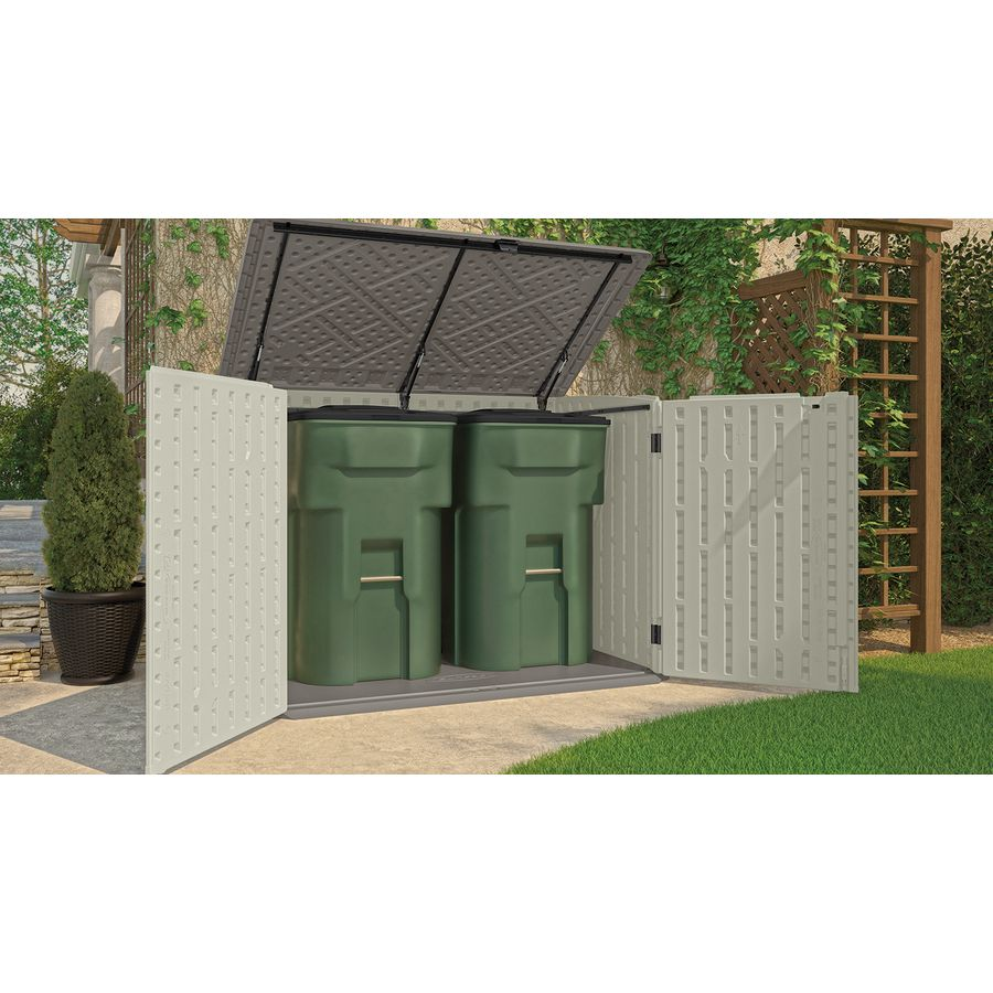 Incroyable Shop Suncast Vanilla Resin Outdoor Storage Shed (Common: 70.5 In X  44.25 In; Interior Dimensions: 65.5 In X 38.5 In) At Lowes.com