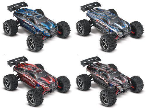Traxxas 71074 E Revo Vxl Monster Truck Scale 1 16 Colors May Vary Toy Kids Play Children E Revo Traxxas Monster Trucks