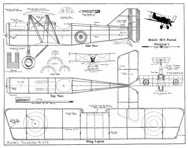 20  free vintage printable blueprints and diagrams