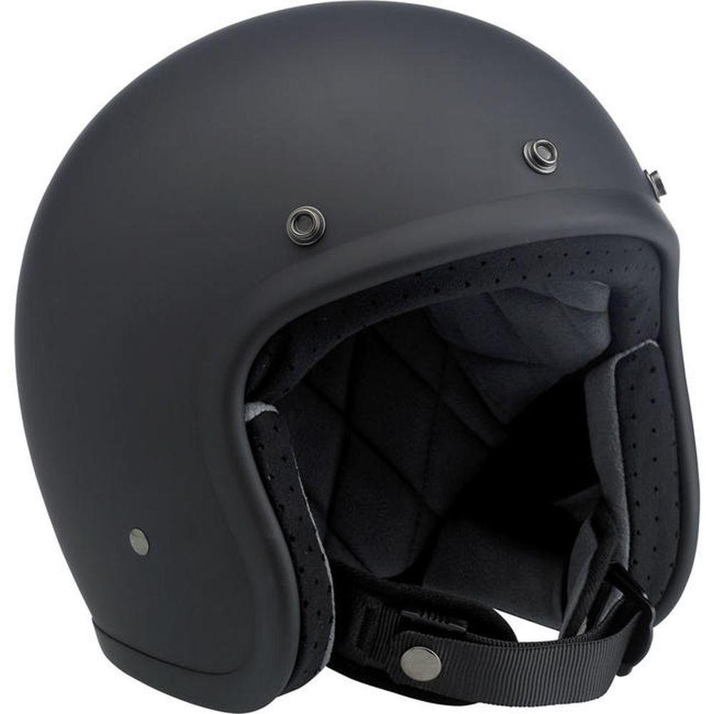 Amazon.com: Biltwell Bonanza Helmet - Flat Black (XL): Automotive