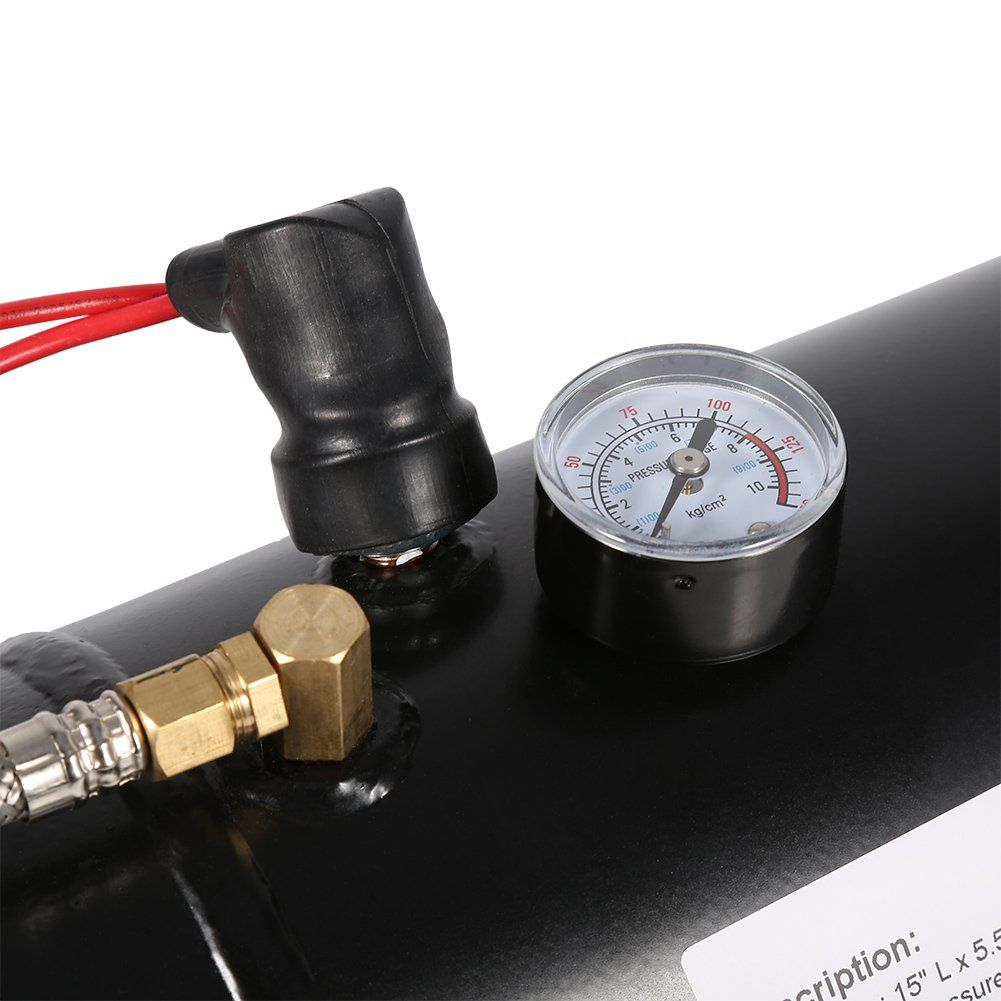 WINOMO 12V DC Portable Air Compressor Pump Digital Tire Inflator by 300 PSI