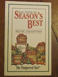 Pampered Chef Season's Best Fall/Winter 1997 - Google Search