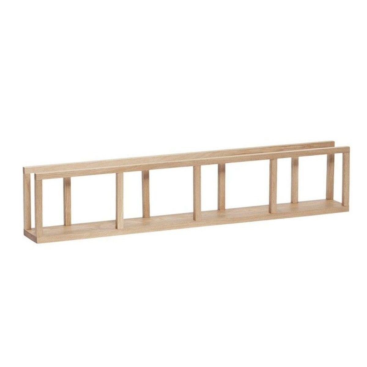 etageres etroite acier bois la redoute