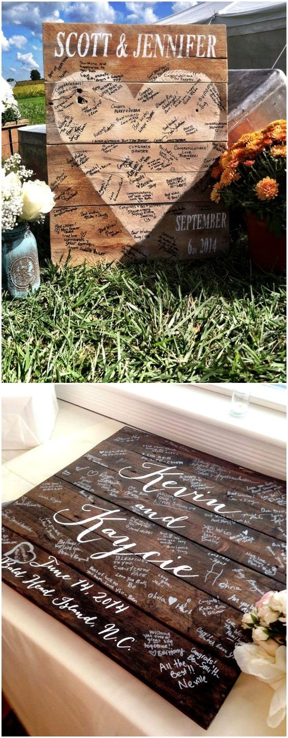 Say ucI Doud to These Fab  Rustic Wood Pallet Wedding Ideas  Wood