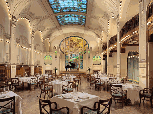 Grand Hotel Europes LEurope Restaurant, Courtesy of Orient-Express