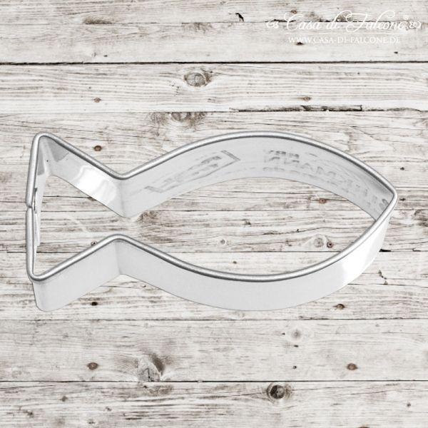 Keksausstecher Fisch Keksausstecher Fisch Material Edelstahl Breite 5 Cm X Hohe 2 1 Cm Taufe Fisch Tischdeko Konfirmation Tischdeko Kommunion