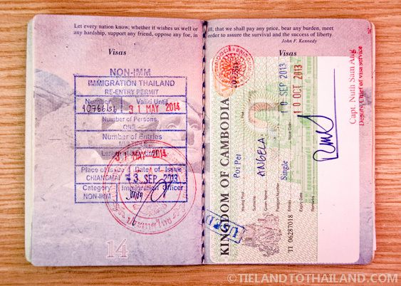 How To Get A Non Immigrant Visa For Thailand