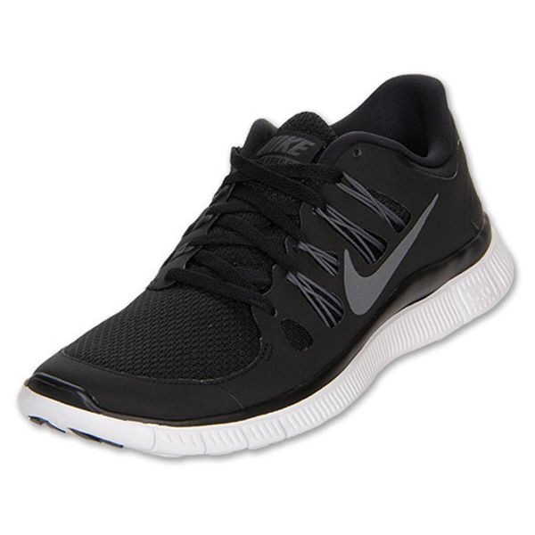 fff8fd6c5507 Nike Men s Nike Free 5.0+ Running Shoes  579959 002  -  89.99   Black White