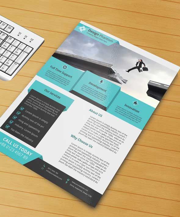 Free Creative Business Flyer Templates Promo Flyer Pinterest