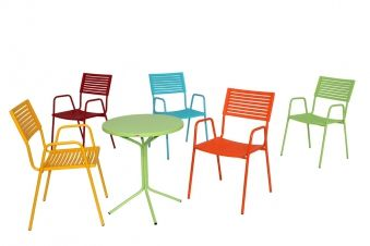 Stapelsessel Gartenstuhl Lamello Turkis Gartenstuhle Stuhle Sessel