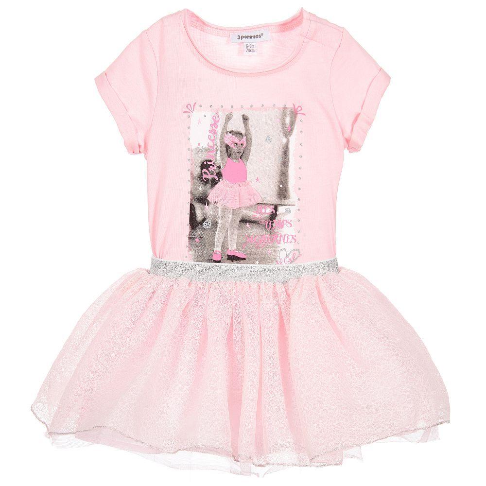 3 Pommes Baby Girls Skirt