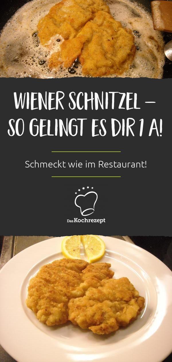 Wiener Schnitzel 1A