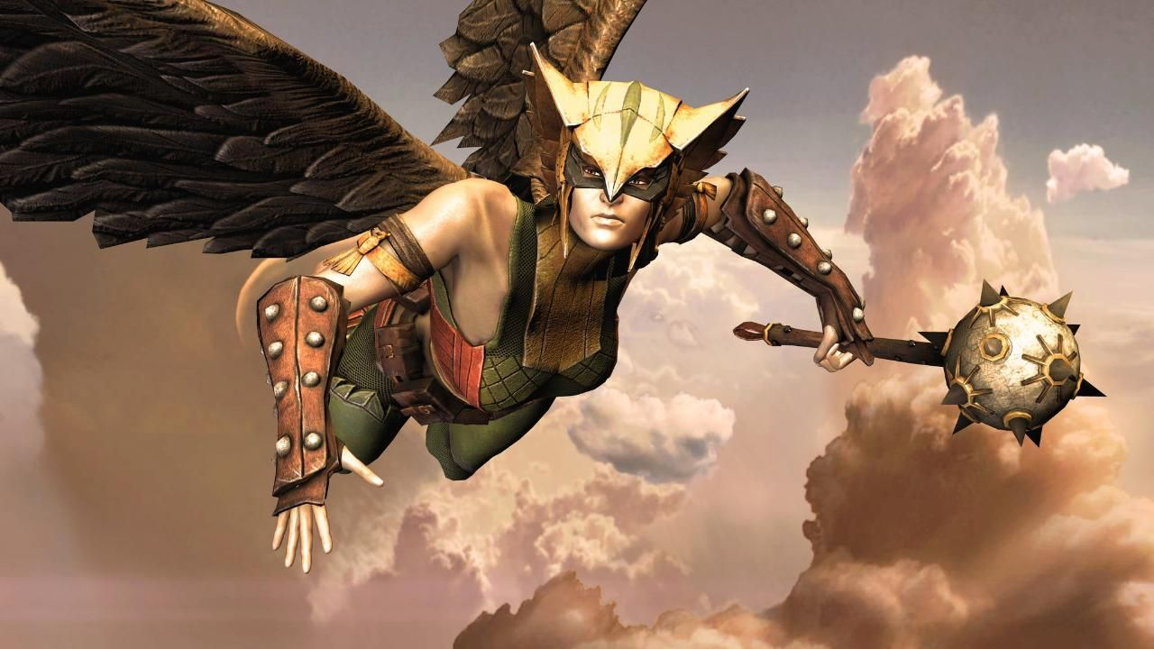 Which Costume Is The Best Day 21 Hawkgirl Injustice Gods Among Us Message Board For Playstation 3 Hawkgirl Comic Villains Dc Comics Games