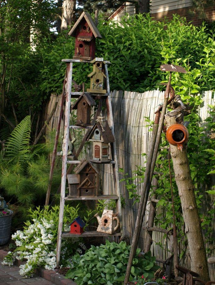 Superb Dekoideen Frühling Garten Vogelhäuschen Amazing Ideas