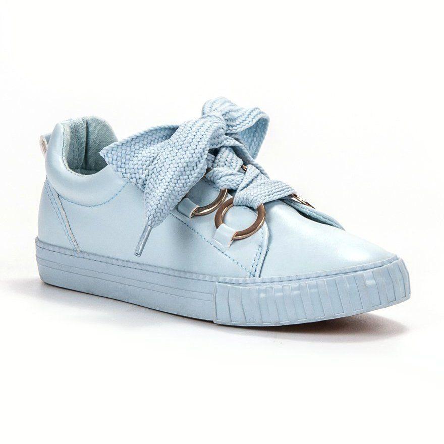 Seastar Blekitne Polbuty Niebieskie Casual Shoes Shoes Keds