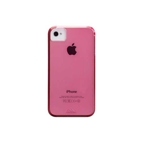 rPet Recycled Plastic Case for iPhone 4/4S   Case-Mate (€31) ❤ liked on Polyvore featuring accessories, tech accessories, fillers, phones, phone cases and electronics