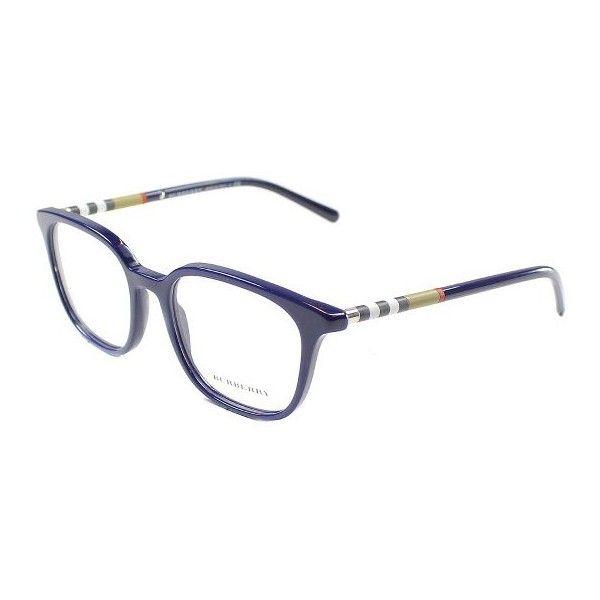 blue burberry glasses