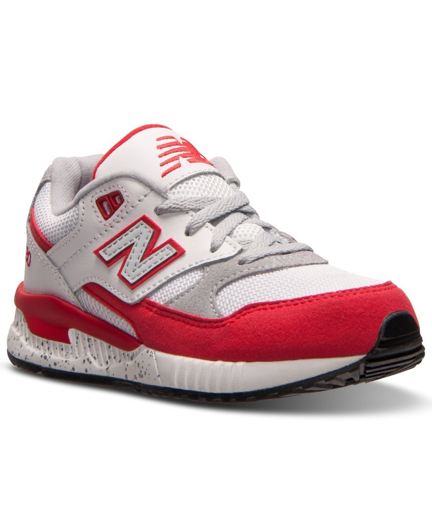 New balance little boys 530 casual sneakers from finish