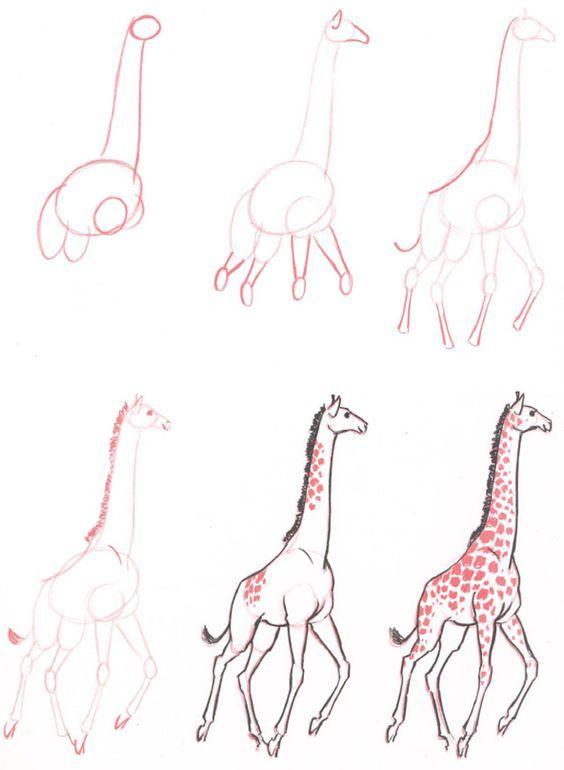 Photo of 20 Ways To Draw A Giraffe Like A Cartoonist – Bored Art