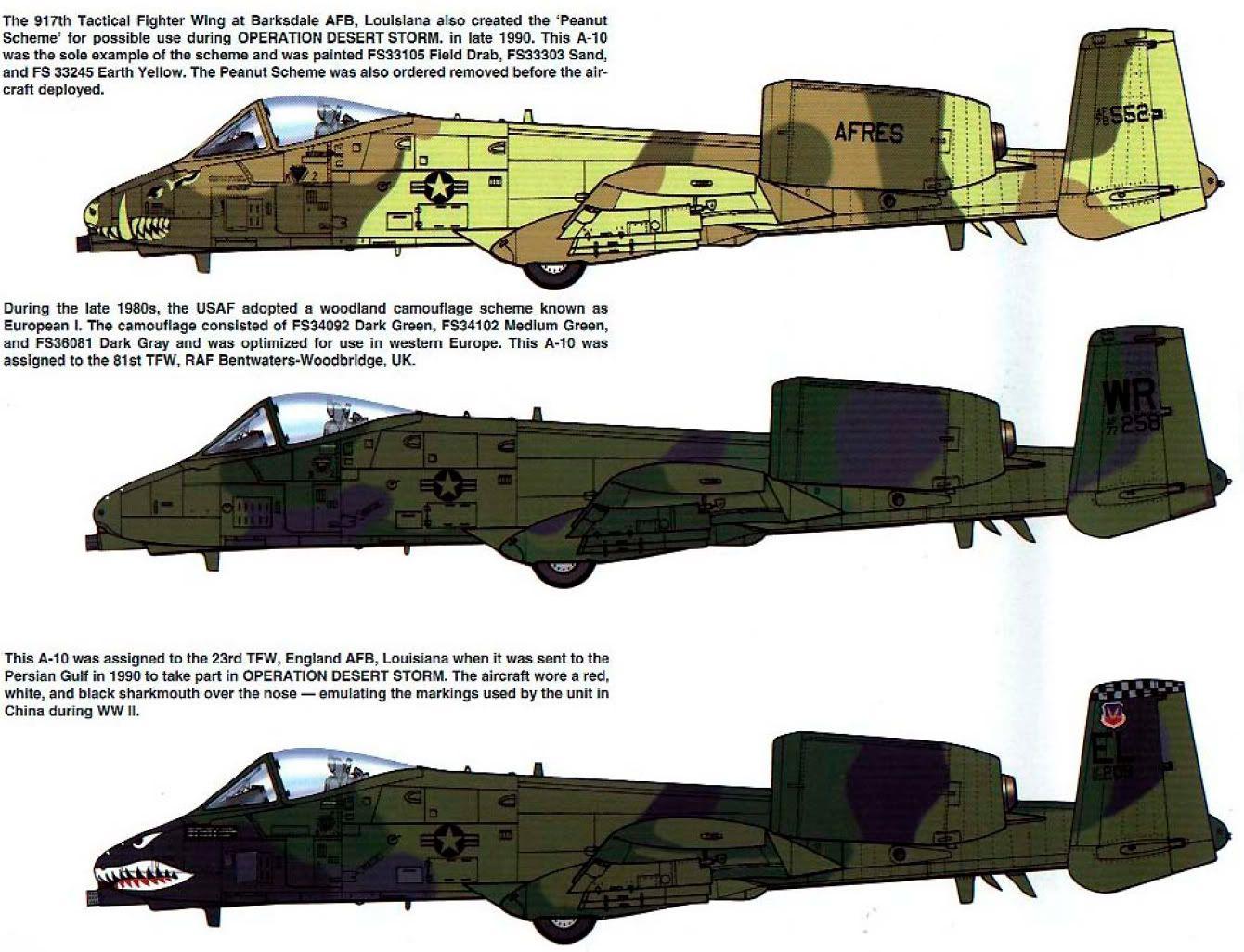 P  Thunderbolt Model Paint Colour