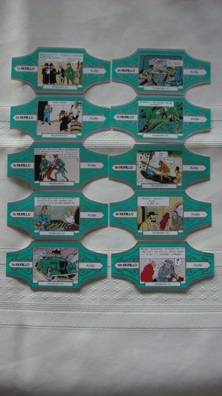 Tintin 10 Cigar Bands 10 Bandes de Cigar | eBay