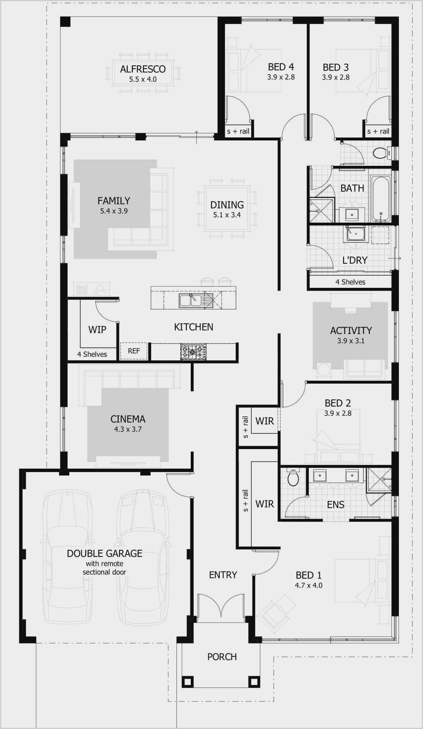 Design A 4 Bedroom House In 2020 With Images 4 Bedroom House