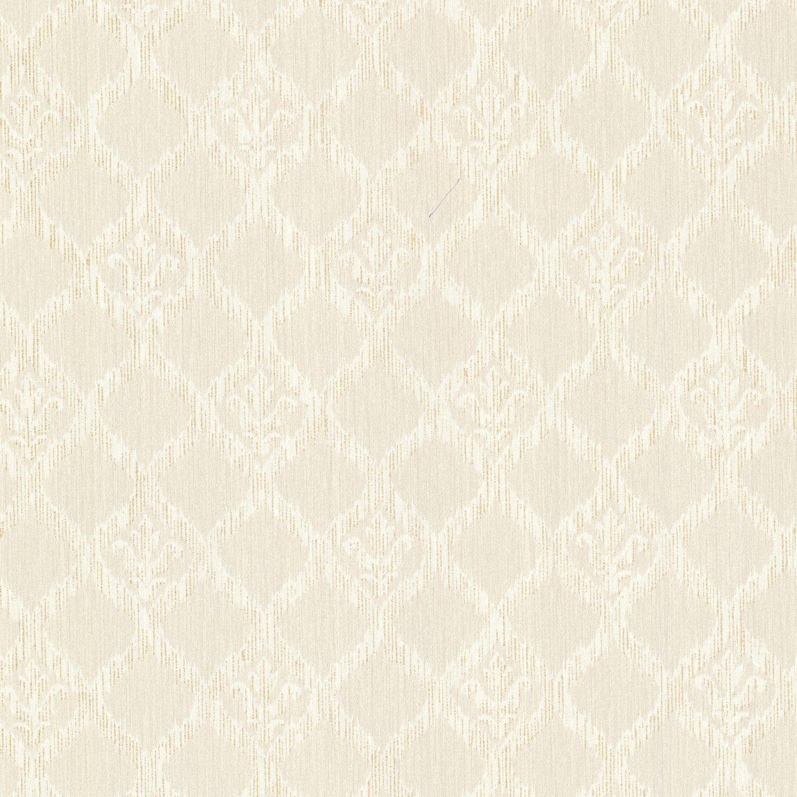 James Jakarta Ikat Motif Wallpaper Champagne