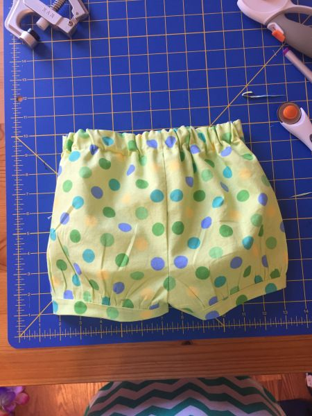 Toddler shorts with room for fluff (18-24 mo)