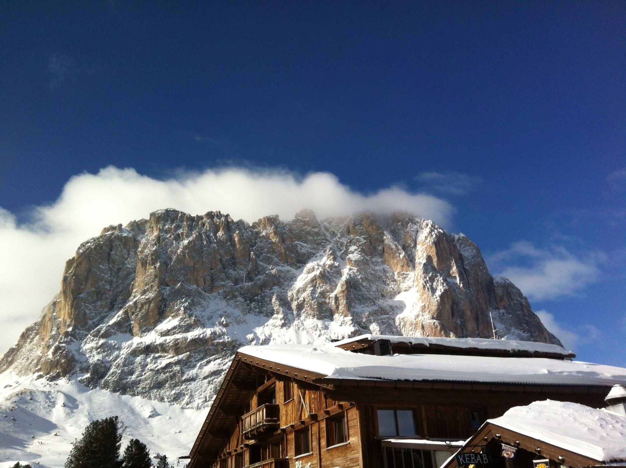 Montain in north italy