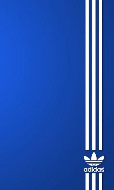 El logo de Adidas Original AZUL HD Wallpapers para iPhone es un fantastico HD