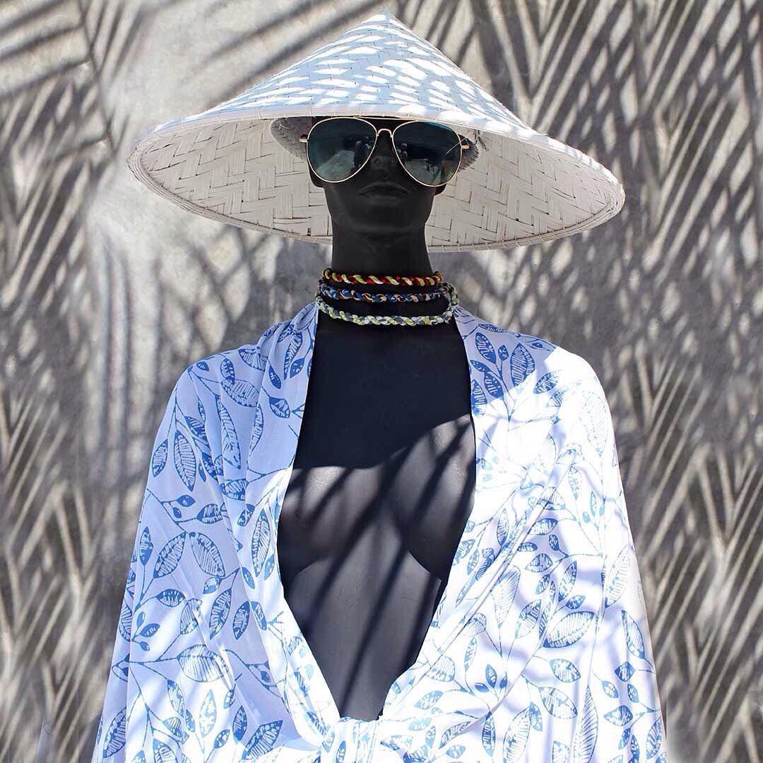 A Beautiful Handmade Batik Sarong Wrap, Beach Pareo, Bali