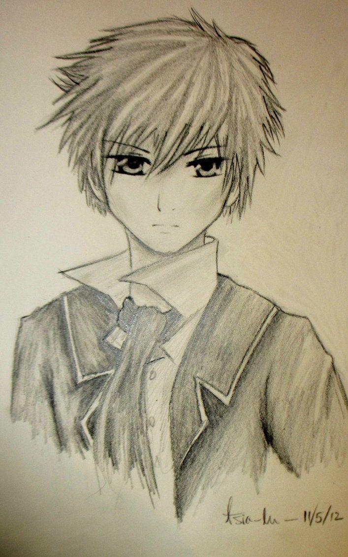 Anime Boy Roe By Yourtoast Anime Sketch Anime Drawings Anime
