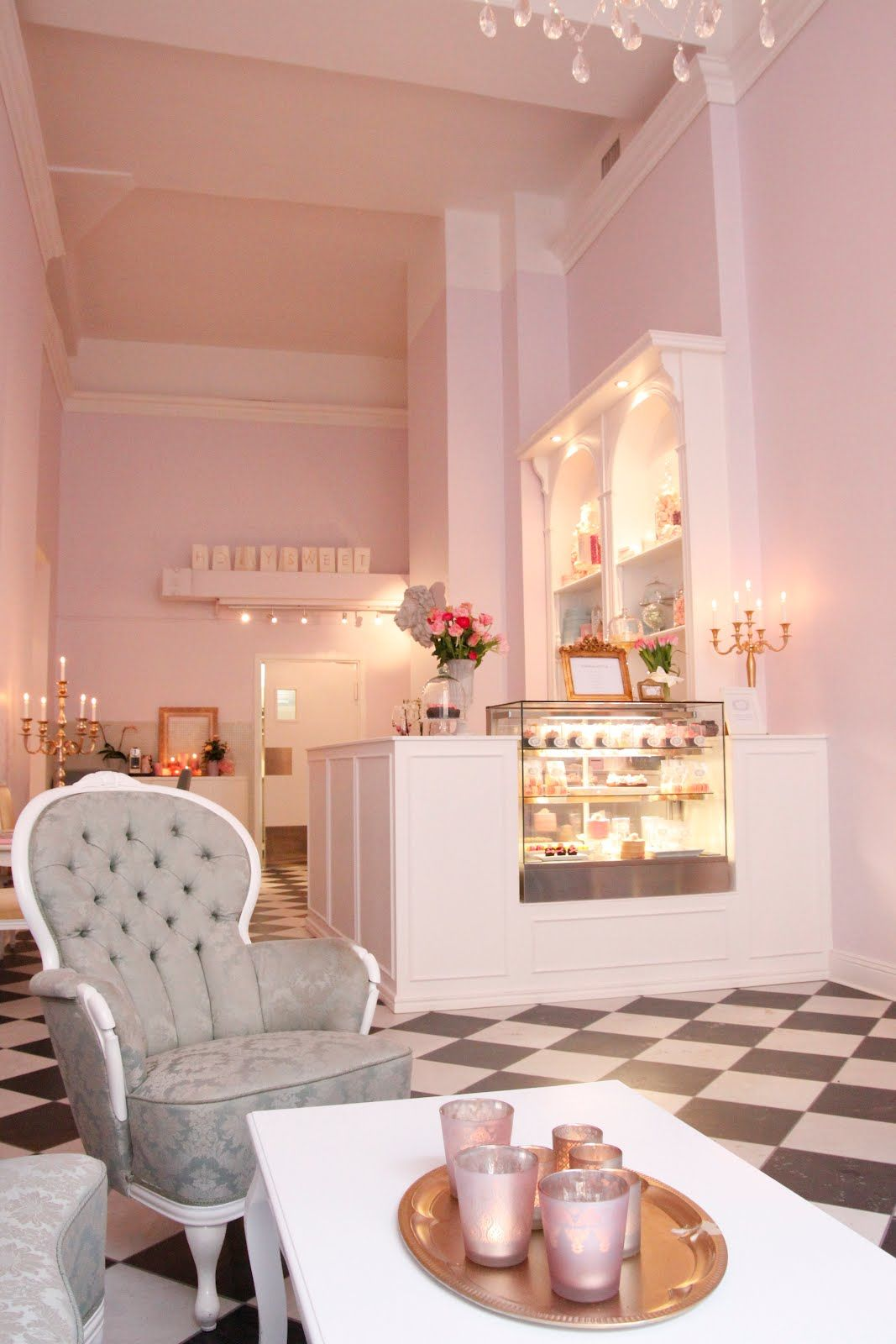 O Holy Sweet O Boutique Bageridesign Butik Design Inredning