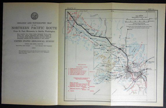 1915 Railroad Map Minneapolis, St Paul, Anoka, Becker, Cable ... on new hampshire united states map, minneapolis map, nevada united states map, wage statistics united states map,