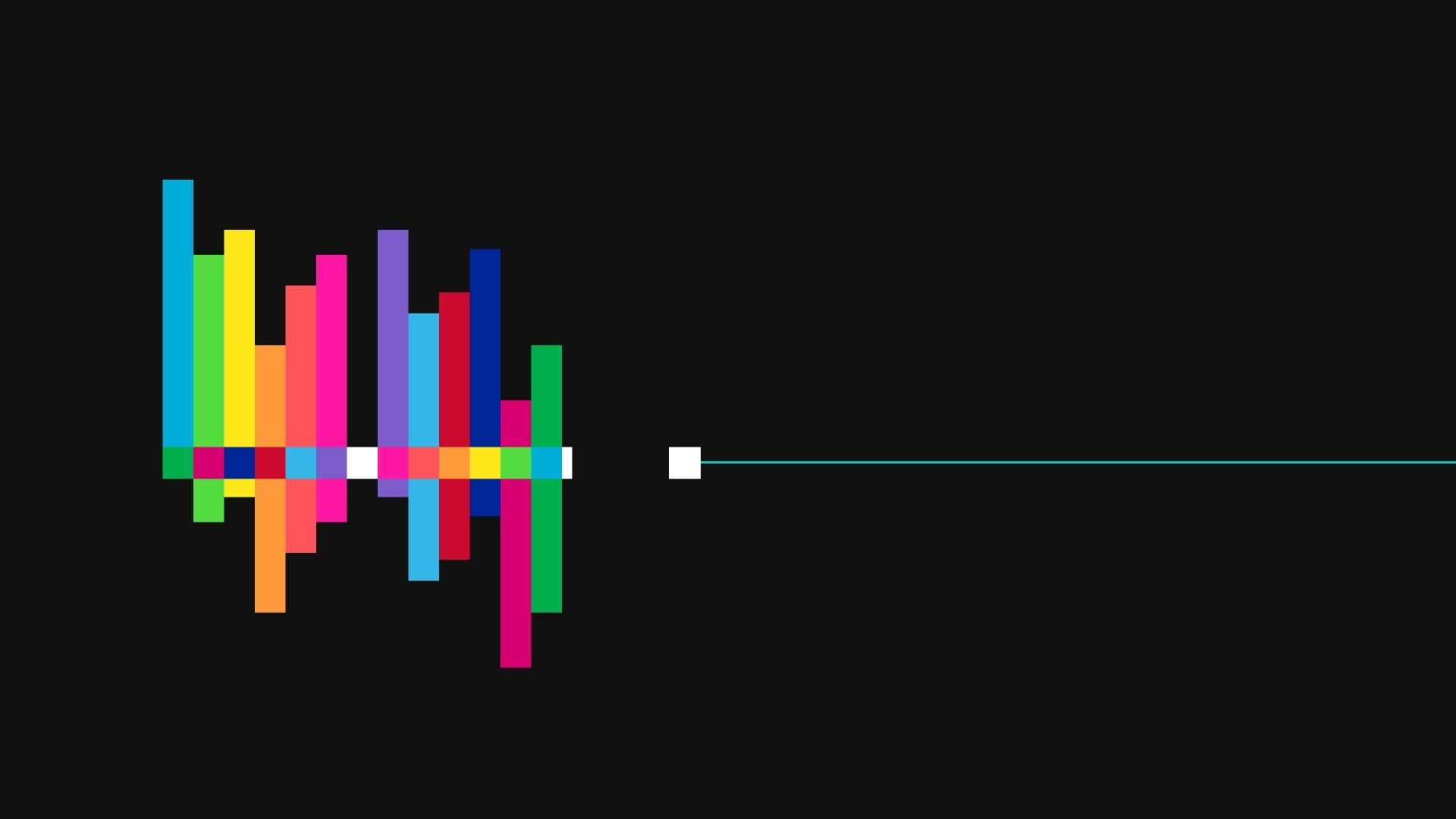 Colorful Sound Waves Mac Wallpaper Download Free Mac