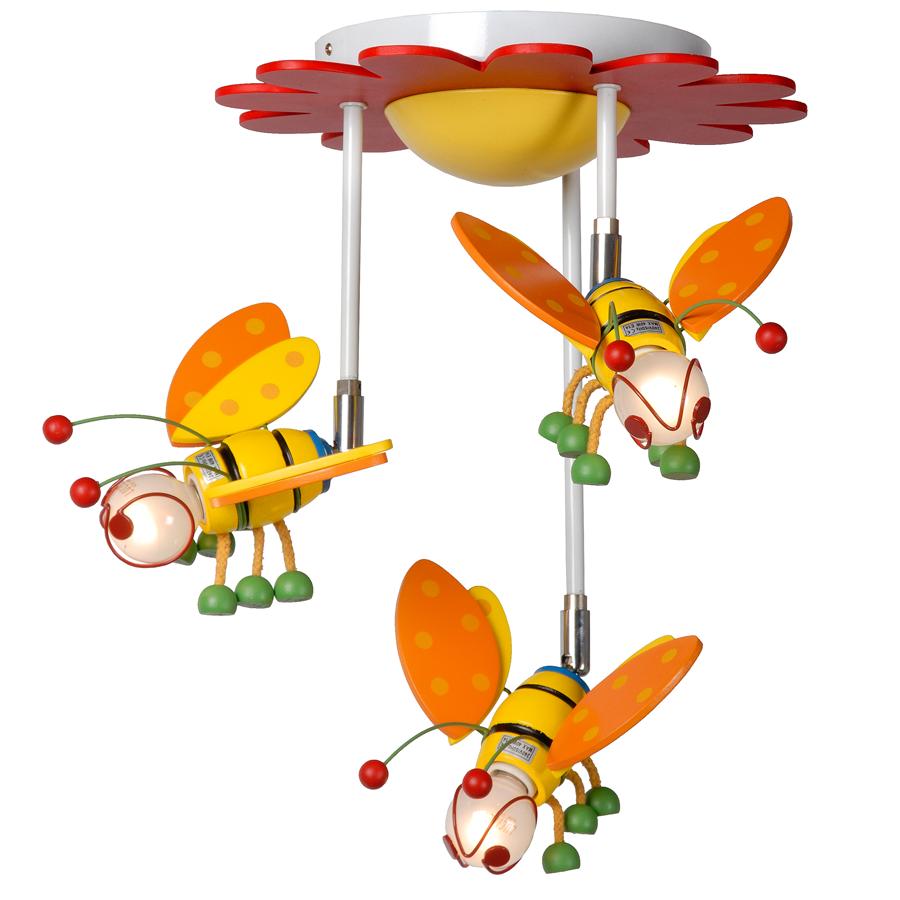 Bee Taklampe Tre Supersot Lampe Med Bie Design Som Gir Deg