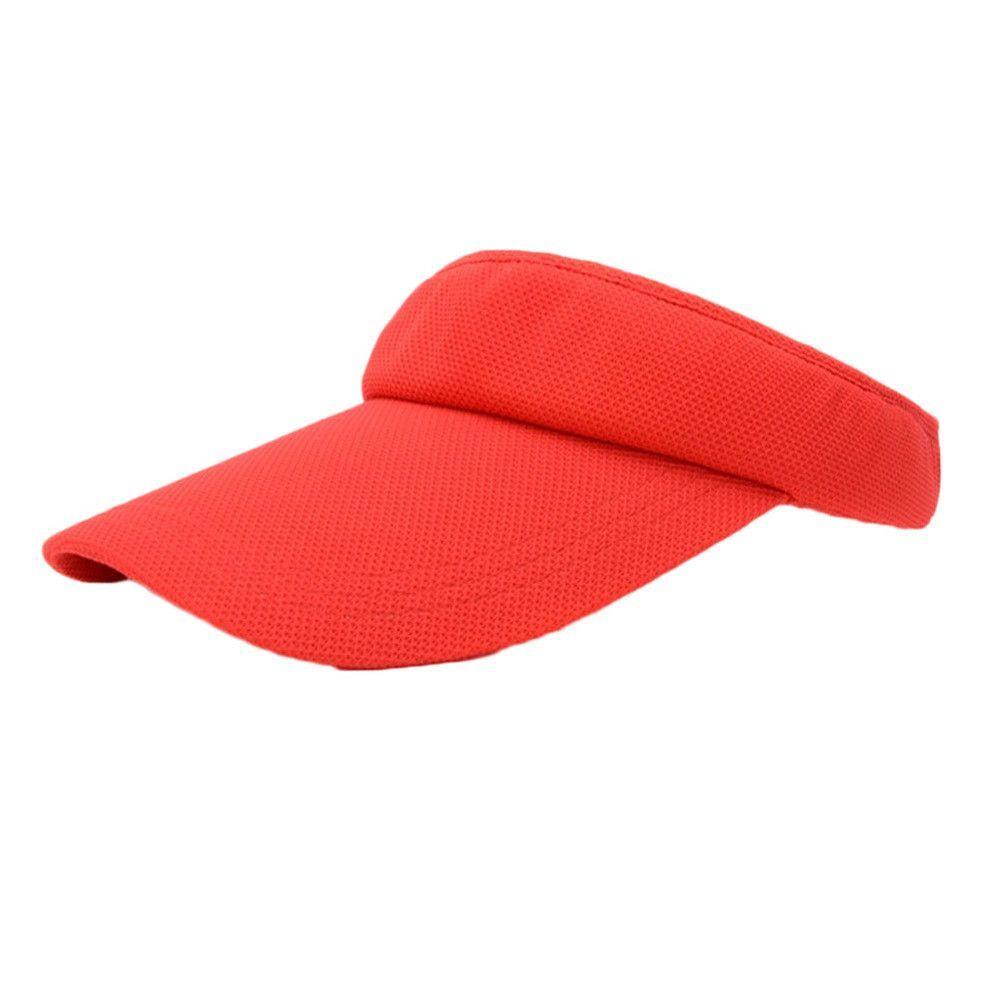 3c68ea6b7 Charming Women Visor Sun Plain Hat 7style Sports Cap Colors Golf ...