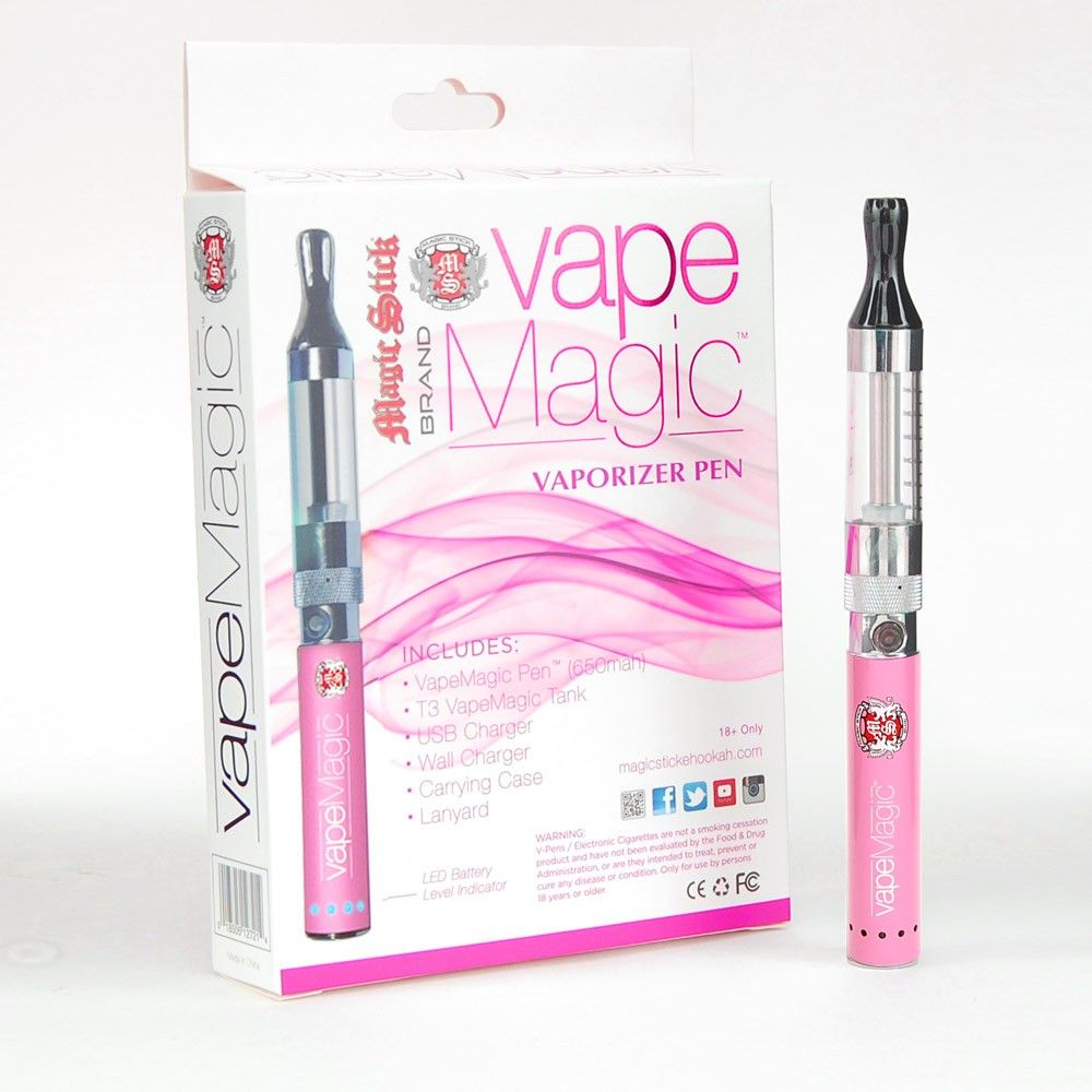 Vape Magic Pink Vaporizer Pen Kit 650mah | bro we get it, you vape