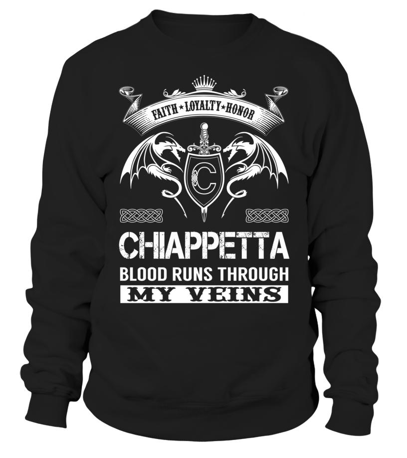CHIAPPETTA Blood Runs Through My Veins
