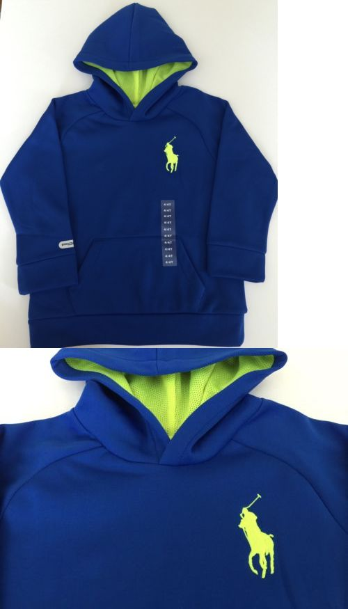 Sweatshirts and Hoodies 155200: Polo Ralph Lauren Boys Big Pony Hoodie Sweatshirt Pullover Sz 4T New -> BUY IT NOW ONLY: $31.99 on eBay!