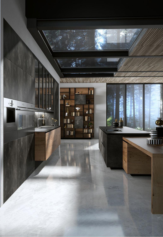 H01 Elegante Bespoke Heartwood Cabinetry For Kitchens And Baths Made By Snaiderousa Ex Eco Friendly Kitchen Design Luxury Kitchen Design Modern Kitchen Design