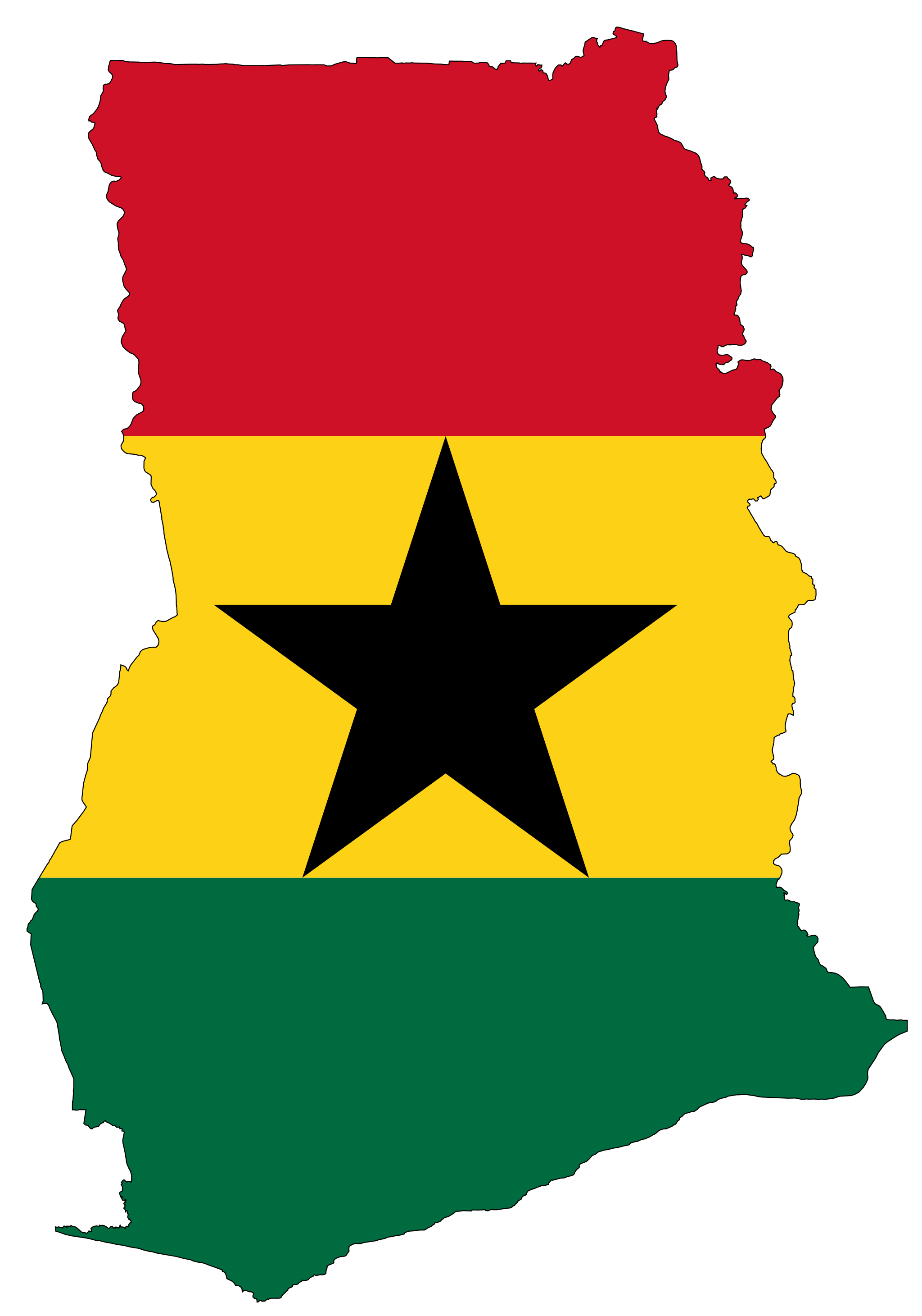 Ghana In Africa Map.3 2 Ghana Is 57 Years Old It Was Founded On March 6 1957