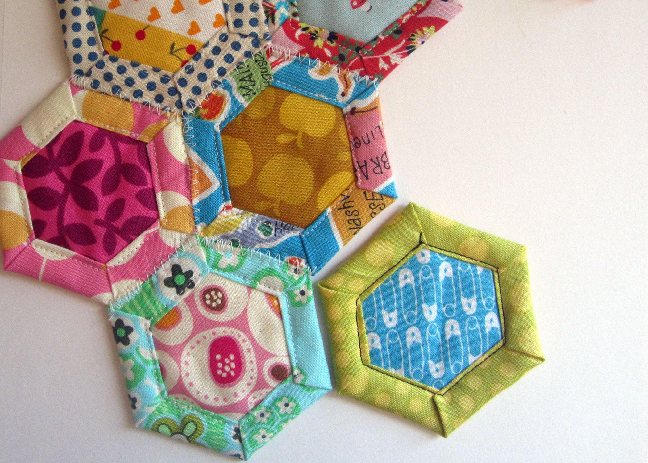 quilt as you go hexagon tutorial | Tracing tools, Hexagon shape ... : go quilt cutter - Adamdwight.com