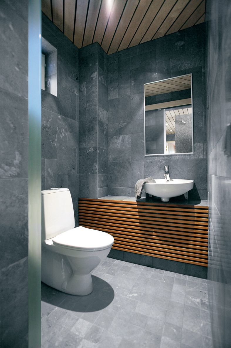 Tile Fabulous Modern Bathroom Interior Cool Grey