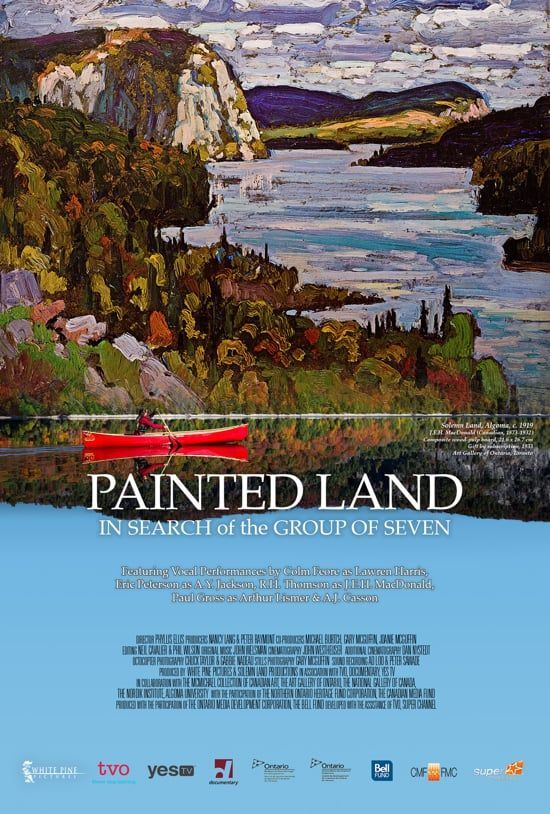 Watch Painted Land In Search of the Group of Seven Online  Vimeo On Demand